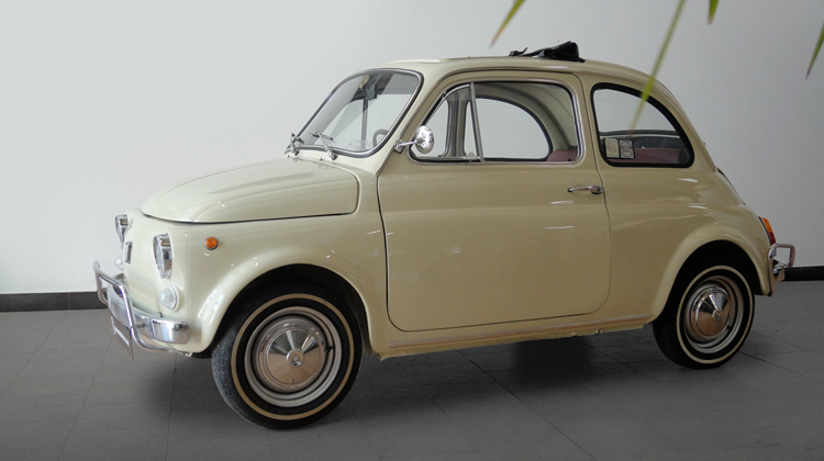An Exclusive Opportunity Fiat 500 L Vintage Donation Included